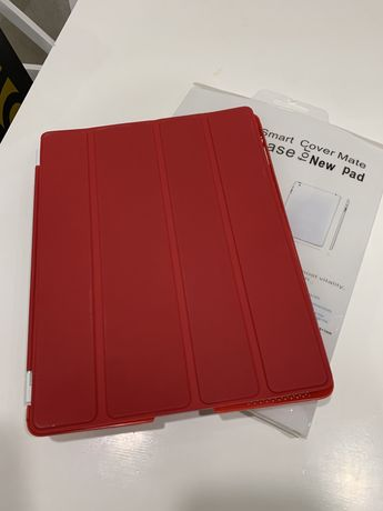 Чехол обложка для iPad 2/3/4 9.7 красный.