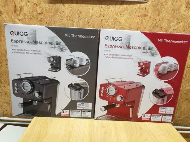Quigg GT-EM-01 ekspres do kawy kolbowy Nowy!!! Okazja!!!