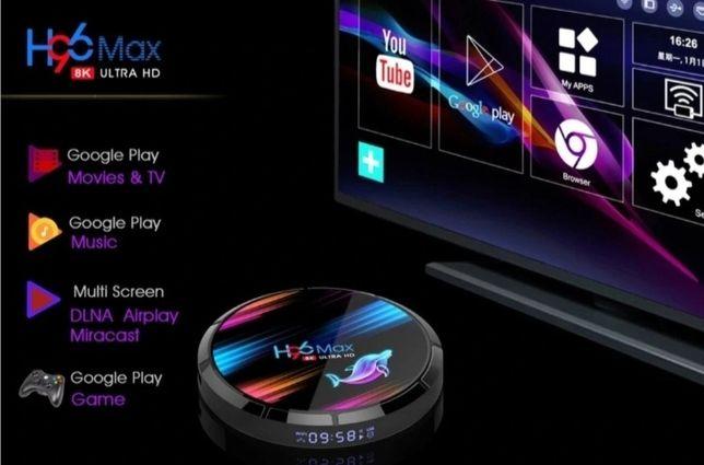 H96 Max X3  4/32/64/128 GB Tv Box   SPOTIFY NETFLIX Gratis!