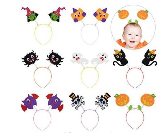 opaska halloweenowa 8szt dla dziecka kreatywna