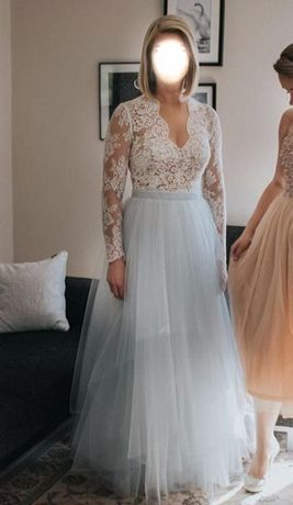 Nietuzinkowa! Suknia ślubna Sylwia Kopczyńska rozm 38
