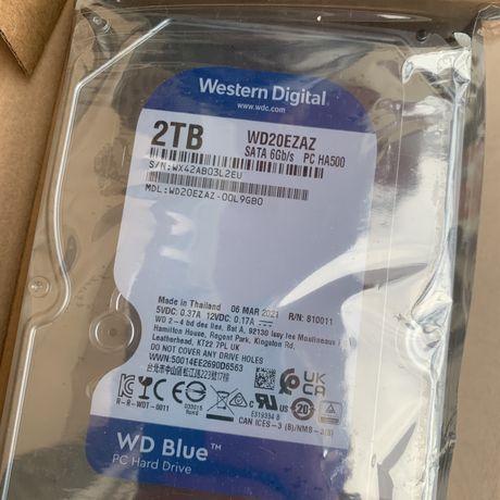 Жесткий диск WD Blue 2 TB (WD20EZAZ)