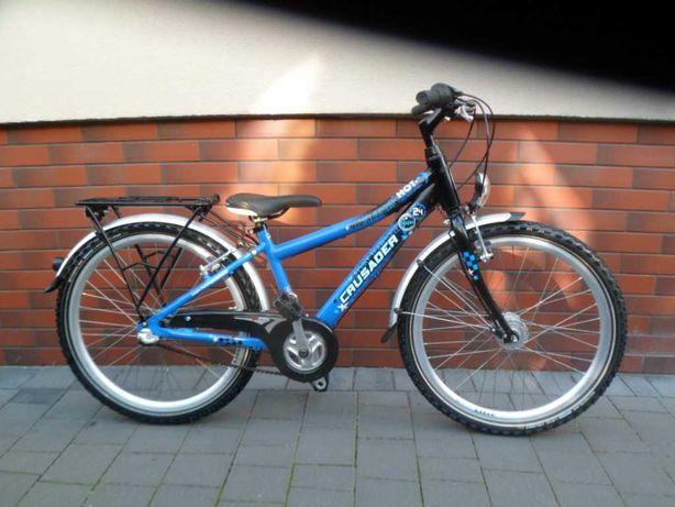 rower PUKY  mod  crusader  koła  24''  aluminiowy
