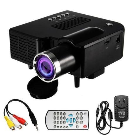 UNIC, Портативный | Full HD мультимедийный | 28+ проектор | LED лампы,