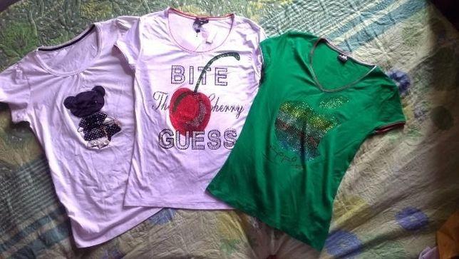 футболка женская (детская) 42-46 р-р новая