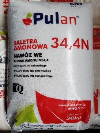 Saletra amonowa Puławy Pulan 30 kg 1040 zł 1 t Dęblin Kozienice Puławy