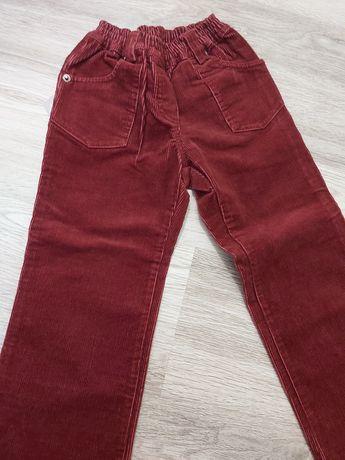 Nowe spodnie sztruksowe 116 Ratex dziewczęce
