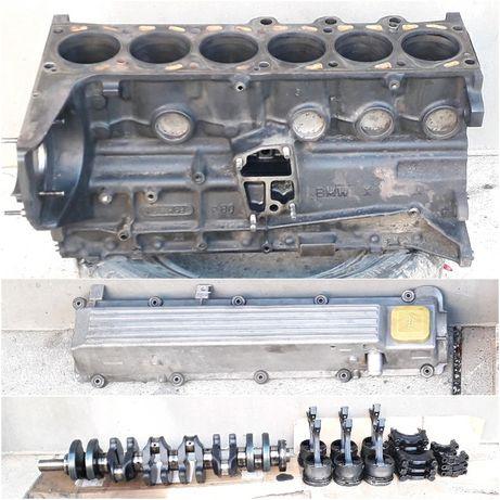 двигатель X25DT opel bmw 2.5 td блок турбина форсунки гидроусилитель