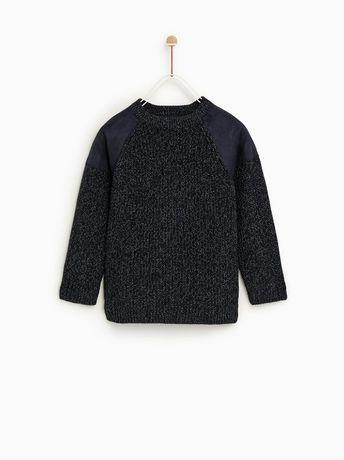 ZARA ciepły sweterek 134 chłopięcy WYPRZEDAŻ
