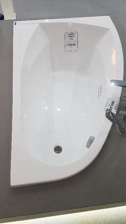 Wanna narożna, Excellent Aquaria Comfort lewa 160×100 akrylowa