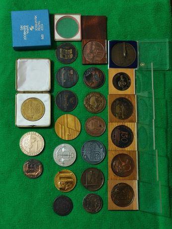 Коллекция настольных медалей, морская тематика. ММФ СССР, Морфлот