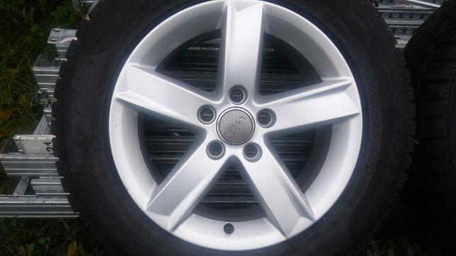 Orginał koła alufelgi Audi A4B8,A6C7 ET46 Opony Pirelli 225.55.16 8mm
