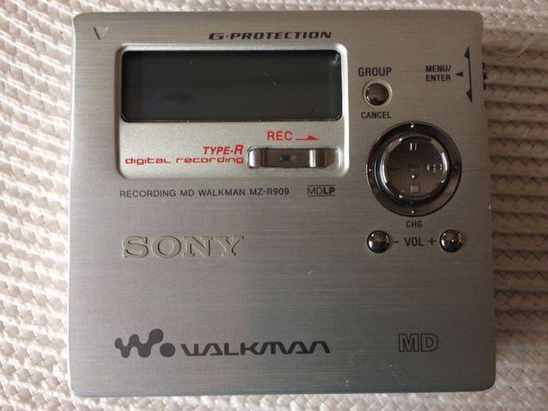 Minidisc Sony MZ-R909 wysoki model, unikat
