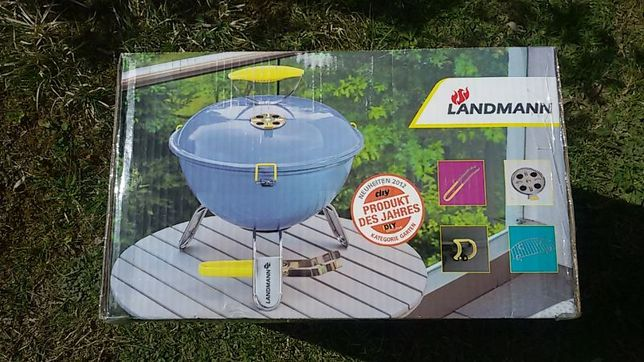 Niebieski Grill węglowy Landmann Piccolino 31381 nowy