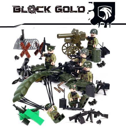 Bonecos minifiguras Coleção Guerra / Militar nº37 (compativel Lego)