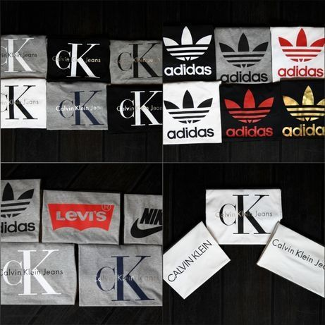 Koszulki Tommy Hilfiger Adidas Nike Calvin klein Levis