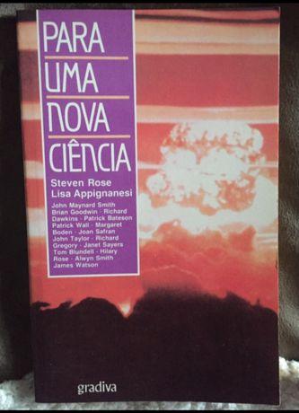 Livro Para uma Nova Ciencia - Steven Rose e Lisa Appignanesi