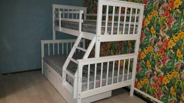 двухъярусная кровать твин