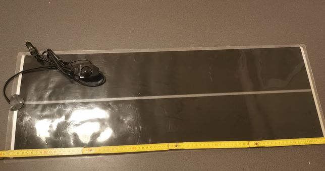 Terrario Premium Repti Pad - Mata grzewcza z regulacją 45 W 80 x 28 cm