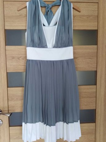 Sukienka damska plisowana