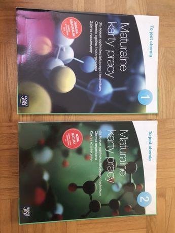 Maturalne karty pracy chemia 1 2 Nowa Era NE