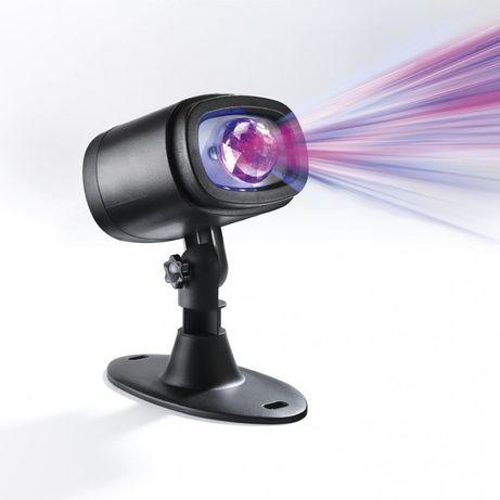 Projektor, laser do domu i ogrodu z efektem mgły, zorzy polarnej