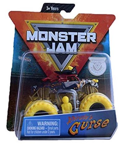 Машинка Пират Monster Jam Pirates Curse Оригинал