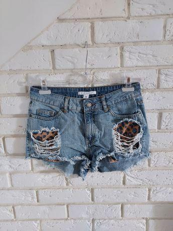 Spodenki jeansowe Nly Trend rozmiar 34 xs dżinsowe szorty h&m zara