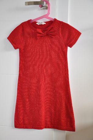 Sukienka dziewczęca H&M rozm. 122/128
