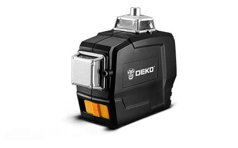 Laser Deko płaszczyznowy 360 3D 12 linii samopoziomujący