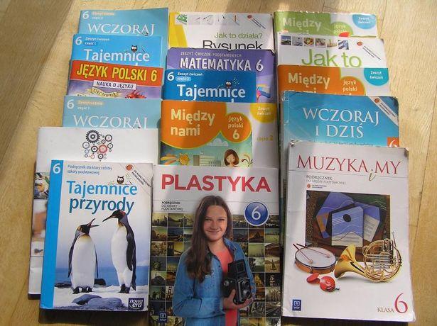 Książki podręczniki klasa 6 Używane Zadbane