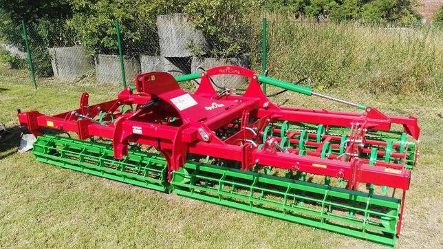 Agrotom Agregat uprawowy AGRO TOM KMH 4 m, kompaktor, Przedsiewny