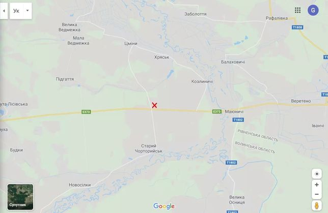 Продам ділянку комерційного призначення Старий Чорторийськ, Волинська