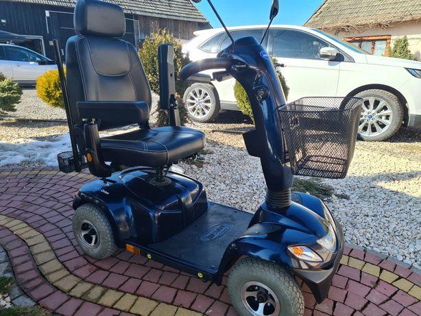 Skuter  elektryczny inwalidzki! Wózek inwalidzki  Nowe baterie