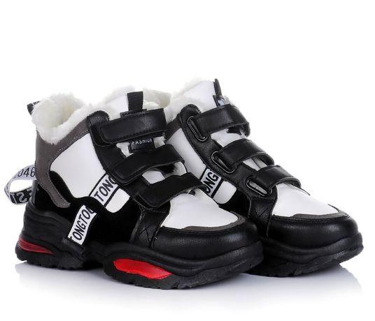 Черные женские ботинки кроссовки зимняя обувь! 36-41 ХИТ! НАЛОЖКА!