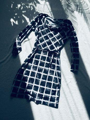 Quiosque sukienka w geometryczne wzory 44 XXL