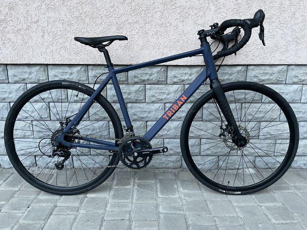 Шосейний велосипед Triban RC120, 2021