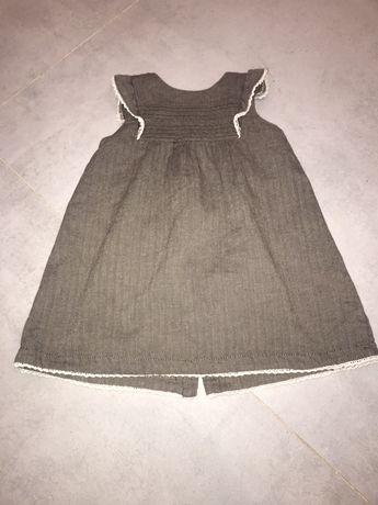 Sukienka h&m w jodełke 86
