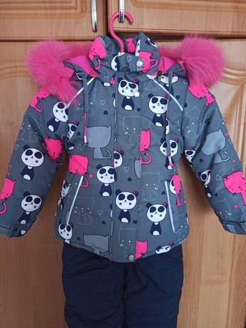 Зимняя куртка для девочки, зимний комбинезон