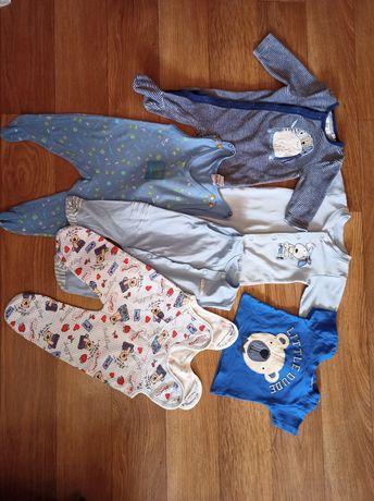 Одежда на малыша 0-3 месяца