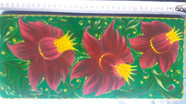 Доска интерьерная Квіти