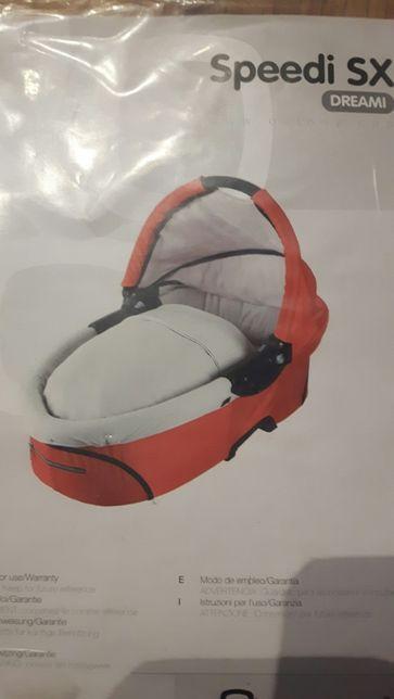 Folia przeciwdeszczowa+moskitiera gondola Quinny speede sx nowa