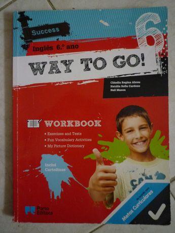 Caderno de atividades Inglês 6º Way to go ! Novo