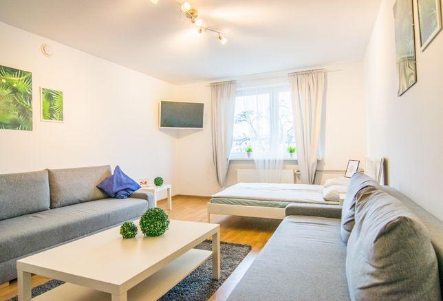 Kwatery pracownicze, Apartamenty, 6-8 łóżek różne lokalizacje TV Wi-Fi