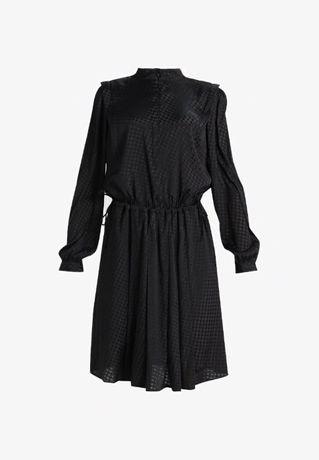 Gestuz Sadia sukienka elegancka czarna 36