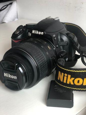 Nikon D3100 como nova!!