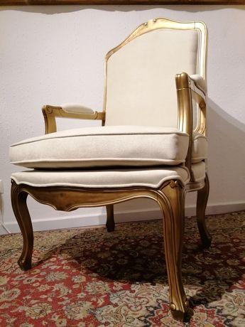 Bergère (ou Cadeirão, Poltrona, Cadeira de braços), estilo Luís XV