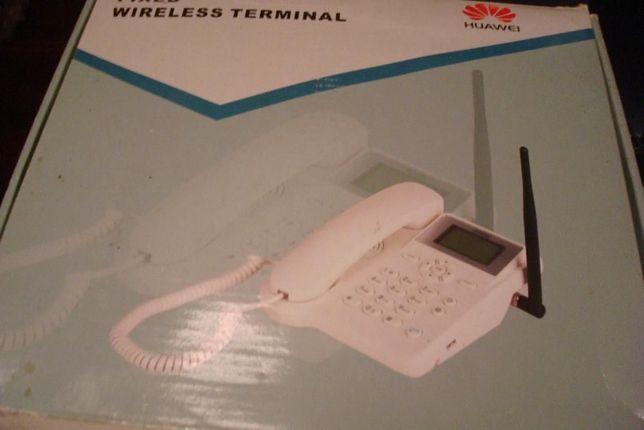 Telefone wireless huawei como novo