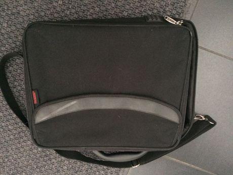 """Torba na laptopa 15"""" używana, czarna"""