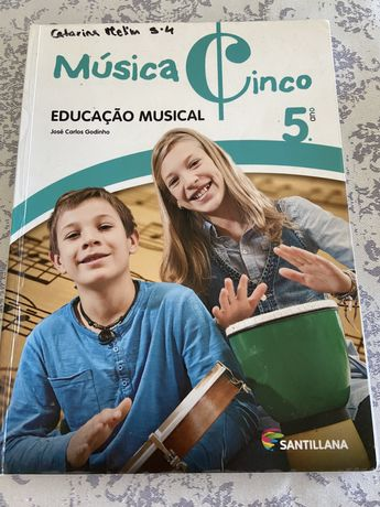 Livro musica 5 ano